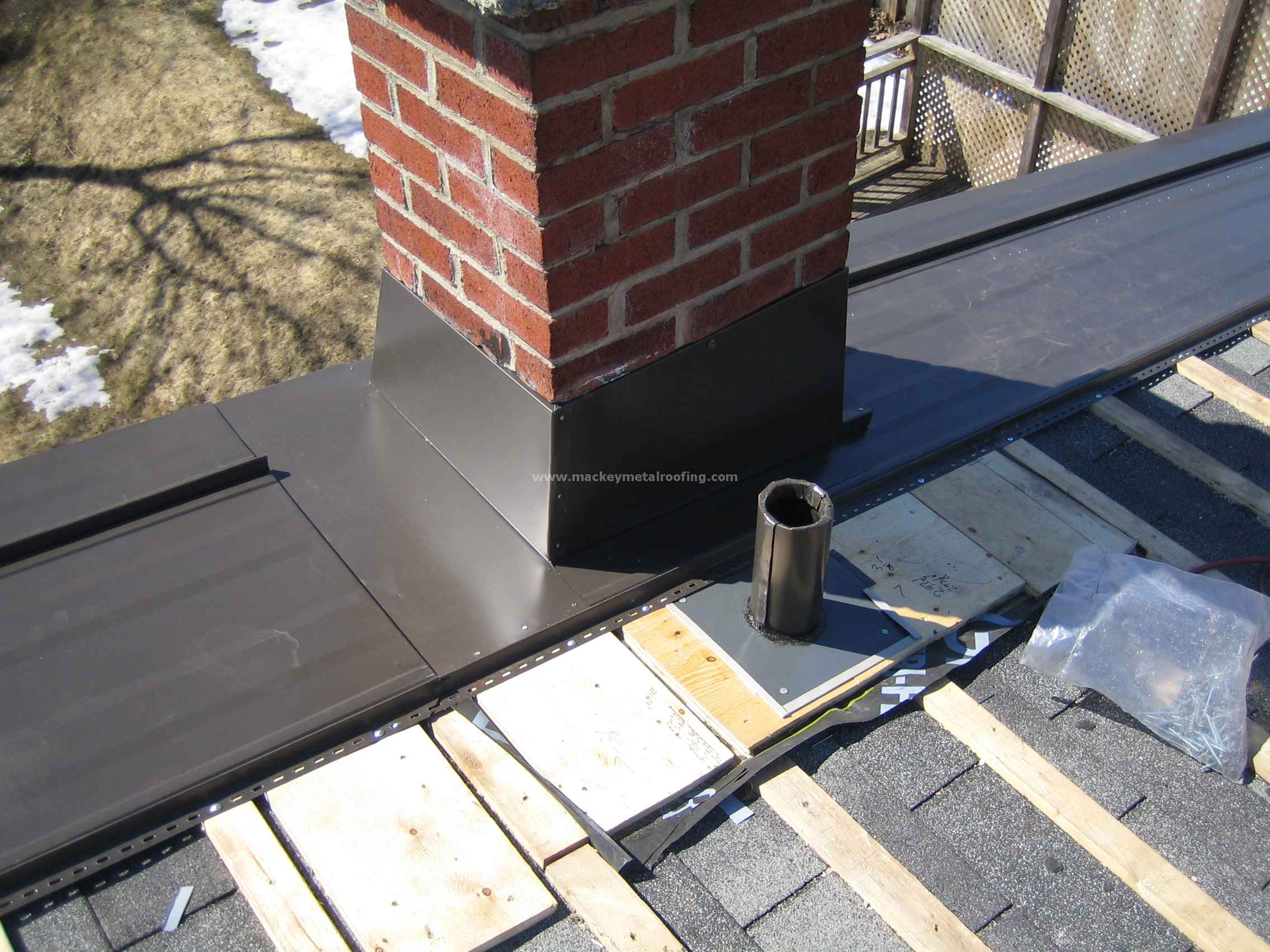 Vent Roof Flashing Roofs · Pipe Sub-flashing